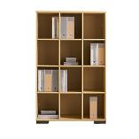 Senator Cubicle bookcase storage unit - 1600mm high
