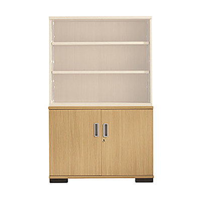 Senator Double door bookcase base unit
