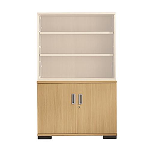 Senator Double door bookcase base unit