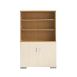 Senator Open fronted bookcase unit with one full width shelf.