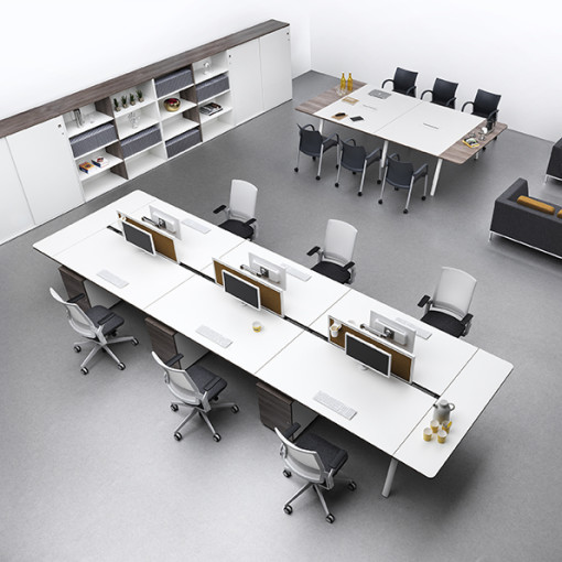 Senator Desking Crossover_Ecoflex_Trillipse