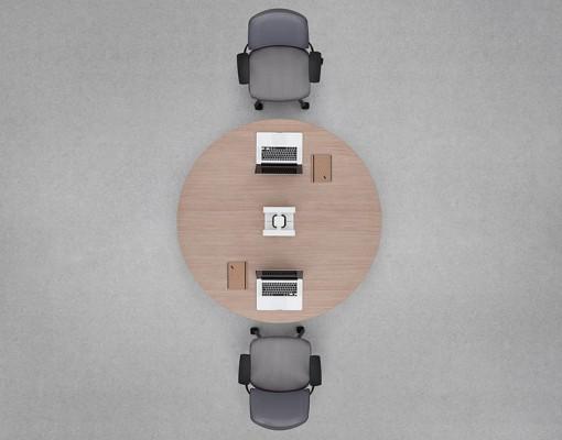 Orb Desking system by Senator