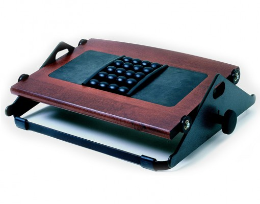 humanscale footrests300 cherry q 3000
