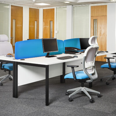 Gresham Bench Deskit Rectangular with Mirage Lite