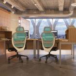 Gresham Bench Deskit with Overdesk storage