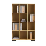 Senator Cubicle bookcase storage unit - 1600mm high
