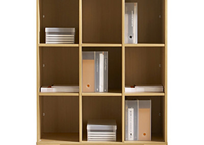 Cubicle bookcase unit