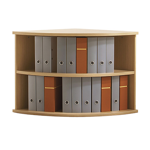 Senator Curved open shelf unit
