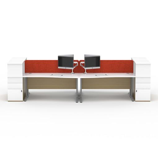 Senator Pulsar Desking System