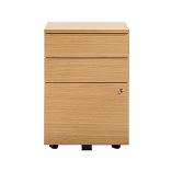Senator Tall 3 drawer mobile pedestal Storage