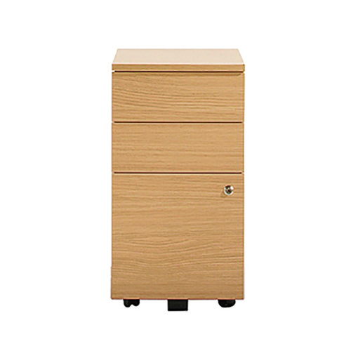 Senator Tall, narrow 3 drawer mobile pedestal storage