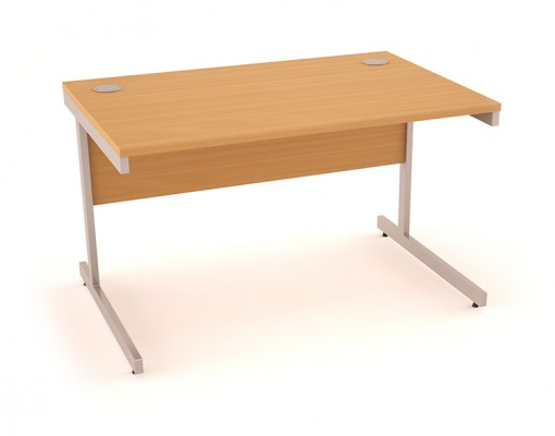 Believe Desking Beech Finish