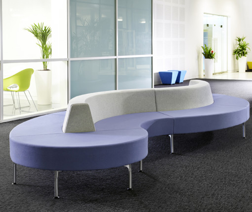 Connection Hive with Legs Soft Seating