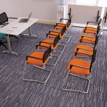 Gresham SJX Mesh Executive and Conference Seating
