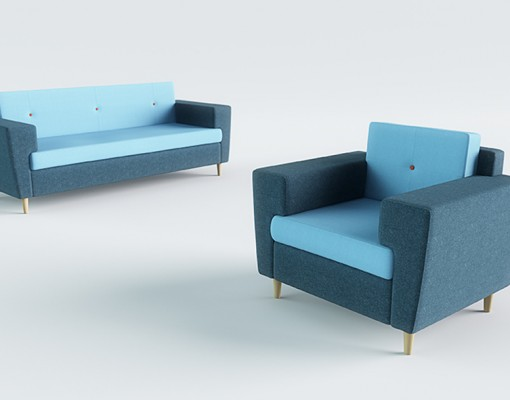 Gallen Soft Seating 1 And 3 Seater