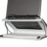humanscale laptop holder l6 white b 3000
