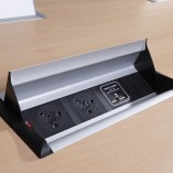 quay-desk top flip black-aero-flip-power-module-apdb2p1ssc2d