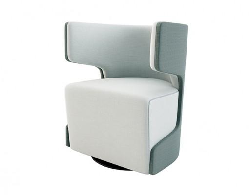 Izzey Lite Swivel GABRIEL Fabrics soft seating