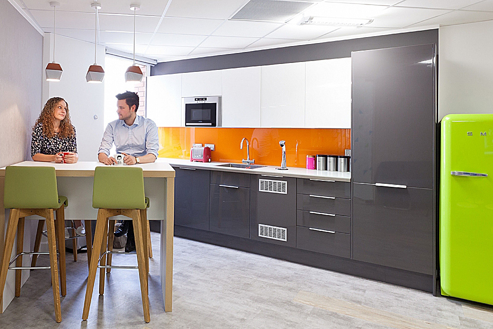 Workplace Kitchen Fitout and Break-out Areas