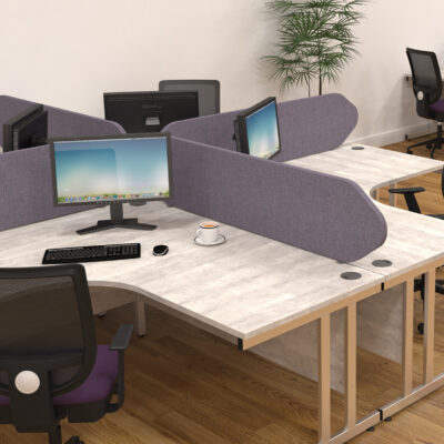Gresham Deskit design 2000 cantilever symetrical