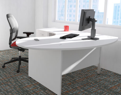 Gresham Deskit design 2000 panel end consult workstation