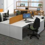 Gresham Deskit design 2000 panel end workstation image