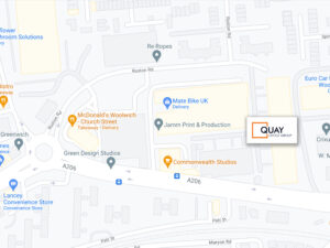 Quay Office Furnishers MAP
