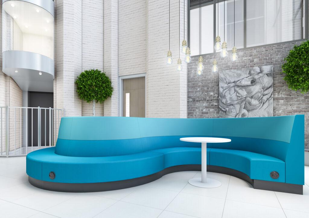 Atrium S Blue White Reef