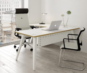 Reflex Office Desk and Office Chairs