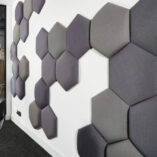GE Acoustics wall mounted shaped tiles copy
